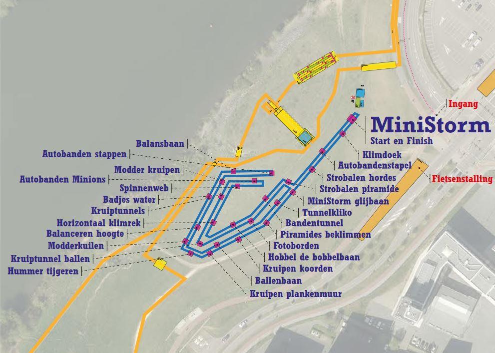 Strecke und Hindernisse des MiniStorm bekannt!